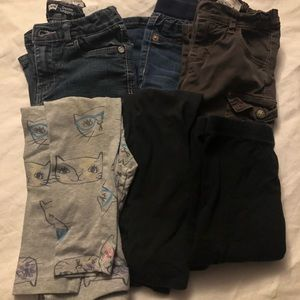 Other - 6 Girls Pants